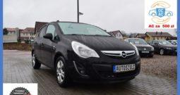 Opel Corsa D 1.2 Benzyna, Model : 2012, 5-drzwi, Bezwypadkowy, Miejski, Czarny-metalik, Rok Gwarancji