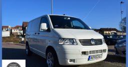 Volkswagen Transporter T5 1.9 TDI, 3-osobowy, Zarejestrowany, Spełnia warunki VAT-1 , Blaszak, Rok Gwarancji