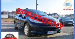 Peugeot 207 1.4 Benzyna, I-Właściciel, 5-drzwi, Zarejestrowany, Na Łańcuszku, bez wkładu, Rok Gwarancji