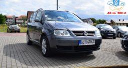 VW Touran 1.9 TDI, Zarejestrowany, Bez wkładu finansowego, Zadbany, Sprawny 100%, Rok Gwarancji