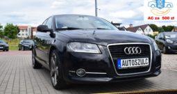 Audi A3 8P 1.6 TDI Sportback, Zarejestrowany, Opłacony, Bez wkładu, Model : 2011, Rok Gwarancji
