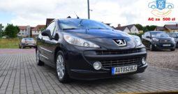 Peugeot 207 CC KABRIOLET ( sztywny dach ) 1.6 Benzyna, Ekonomiczny, Elegancki, Rok Gwarancji