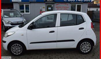 Hyundai I10 1.1 Benzyna, 5-drzwi, Zadbany, Ekonomiczny, Łańcuch rozrządu, Rok Gwarancji full