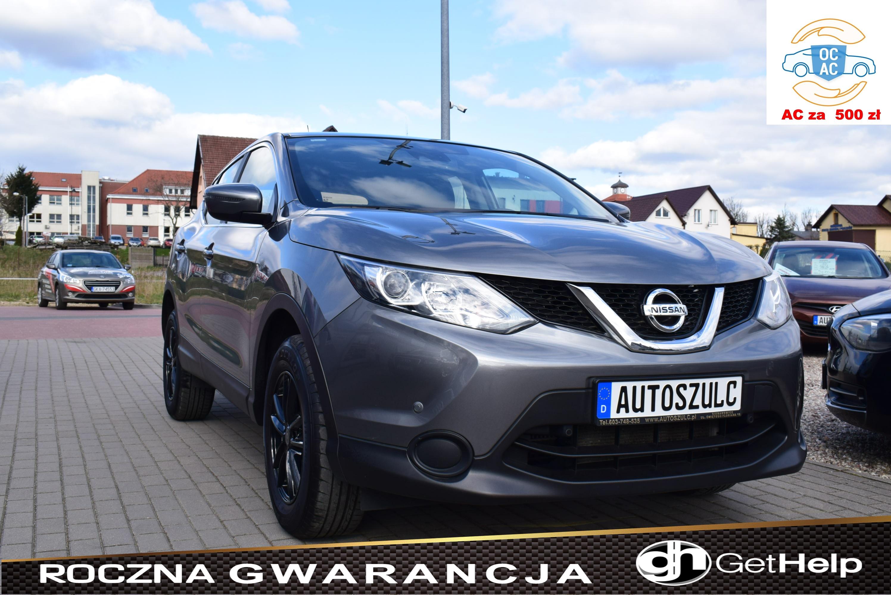 Nissan Qashqai 1.2 Benzyna, Model : 2017, Niski przebieg, Sprowadzony z Niemiec – od osoby prywatnej, Jak nowy, Rok Gwarancji