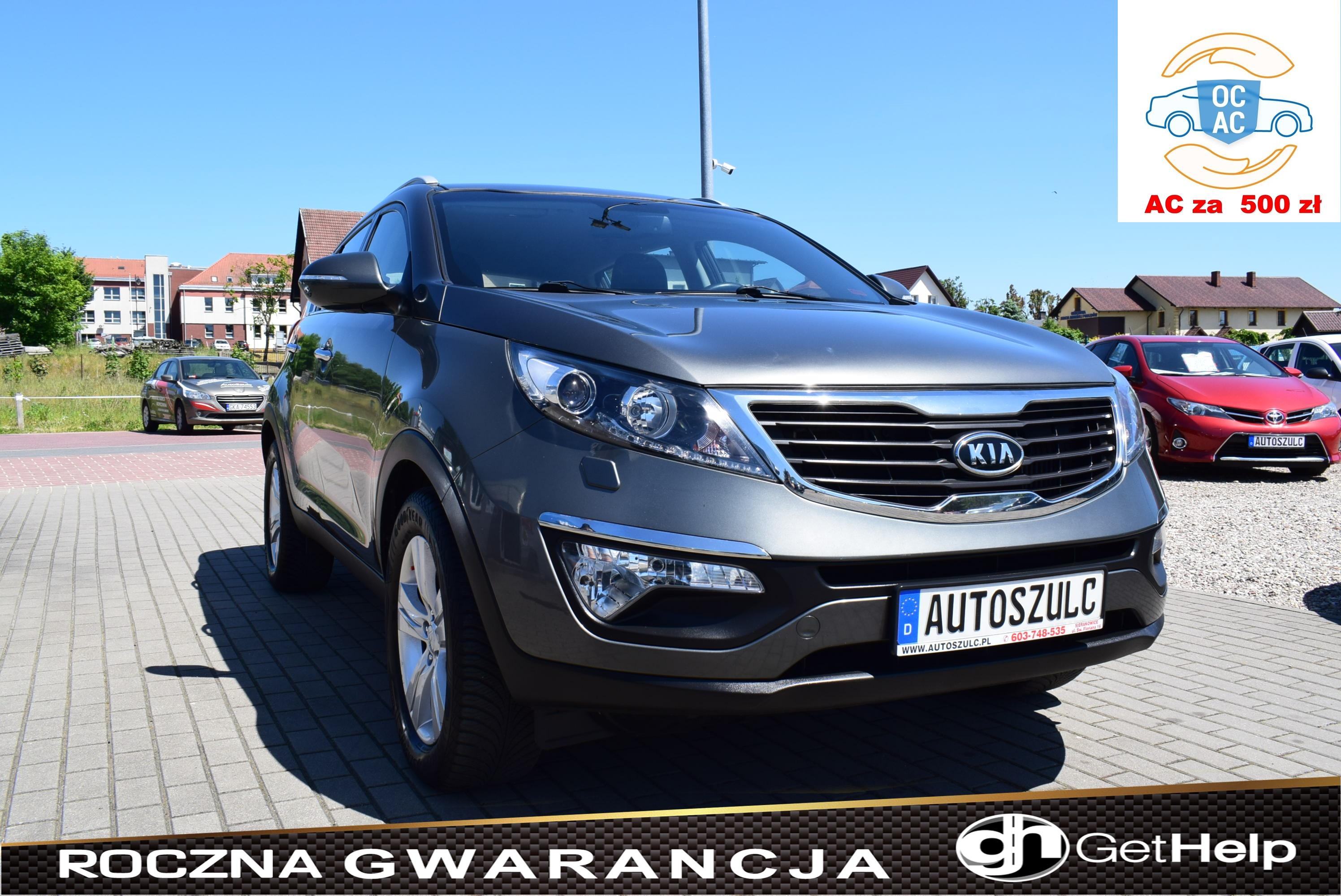 Kia Sportage 1.7 CRDI, SUV, Model : 2013, LED, Czujniki Parkowania, 6-biegów, Tempomat, Zadbany, Rok Gwarancji