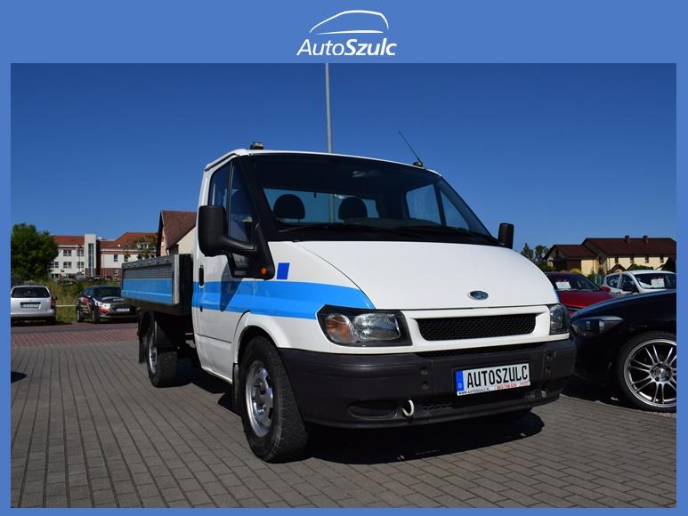 Ford Transit 2.0 Diesel, Skrzyniowy+ Plandeka, Hak, Model: 2005, I-Właściciel, Ciężarowy, Spełnia warunki Vat-1