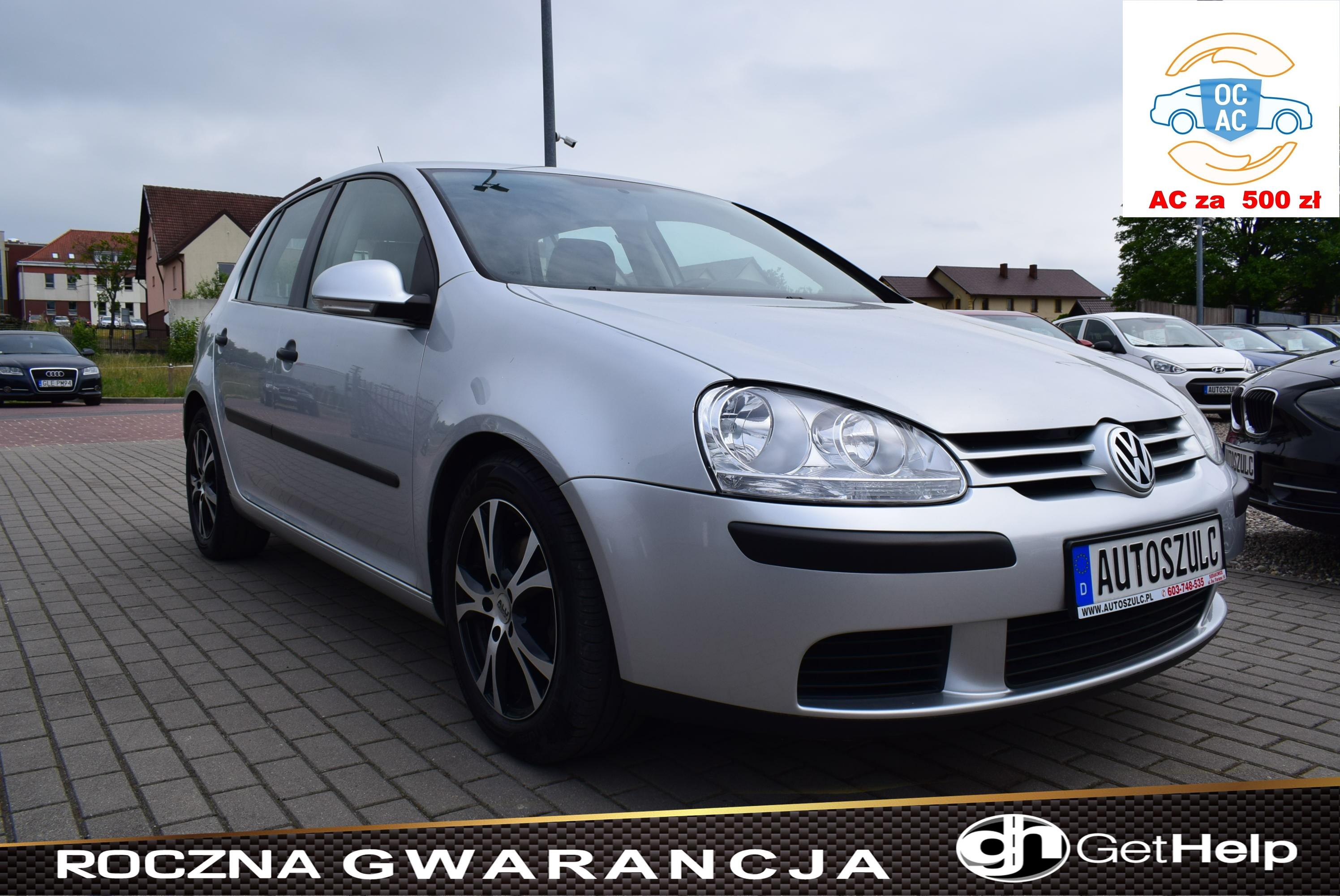 VW Golf V 1.6 Benzyna 102 PS, MPI, Najlepsza jednostka silnikowa, Z Niemiec, 5-drzwi, Serwis do końca, Rok Gwarancji
