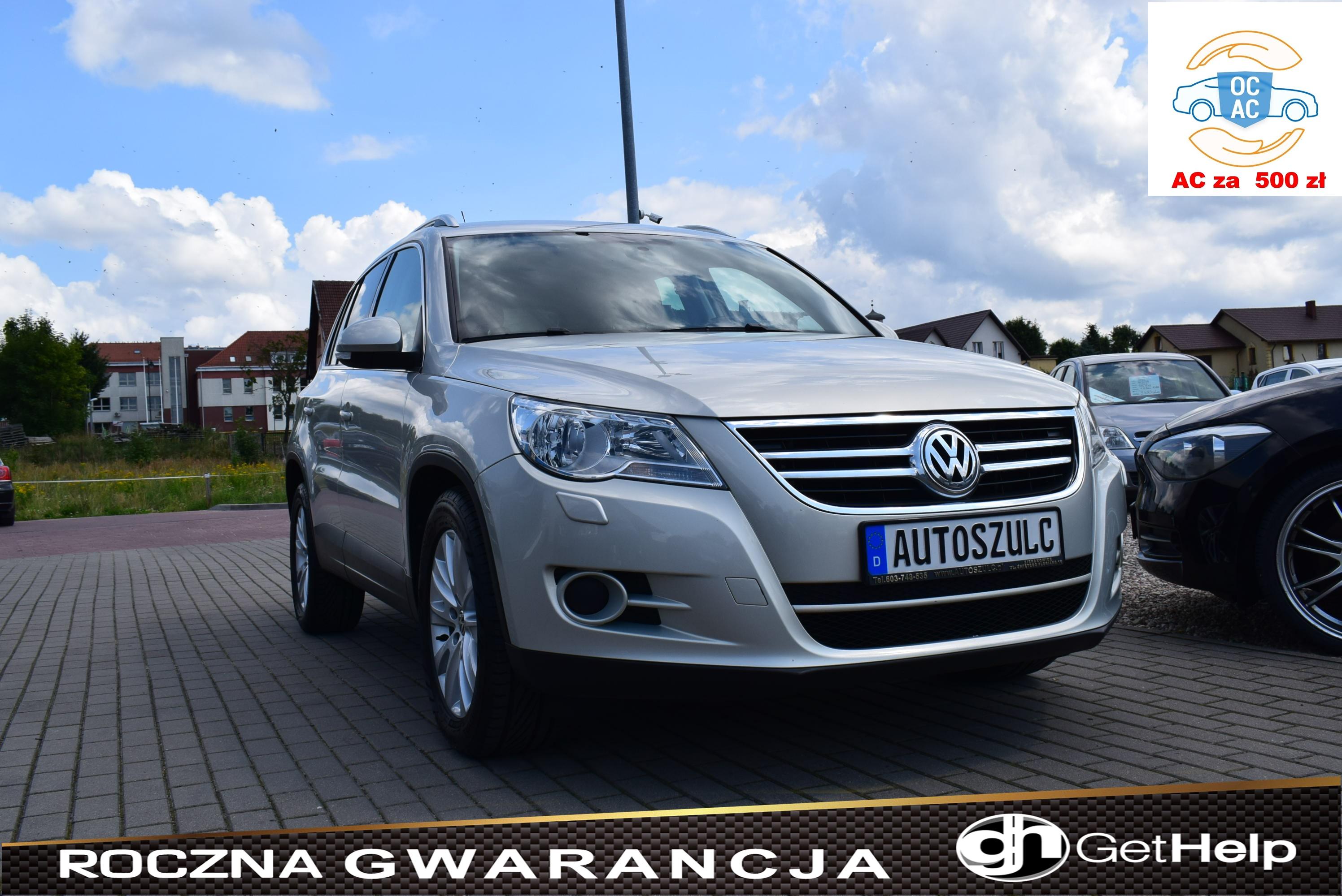 VW Tiguan 2.0 TDI, I-Właściciel, Z Niemiec, Sprawny Technicznie, Zadbany, SUV, Serwisowany, Rok Gwarancji
