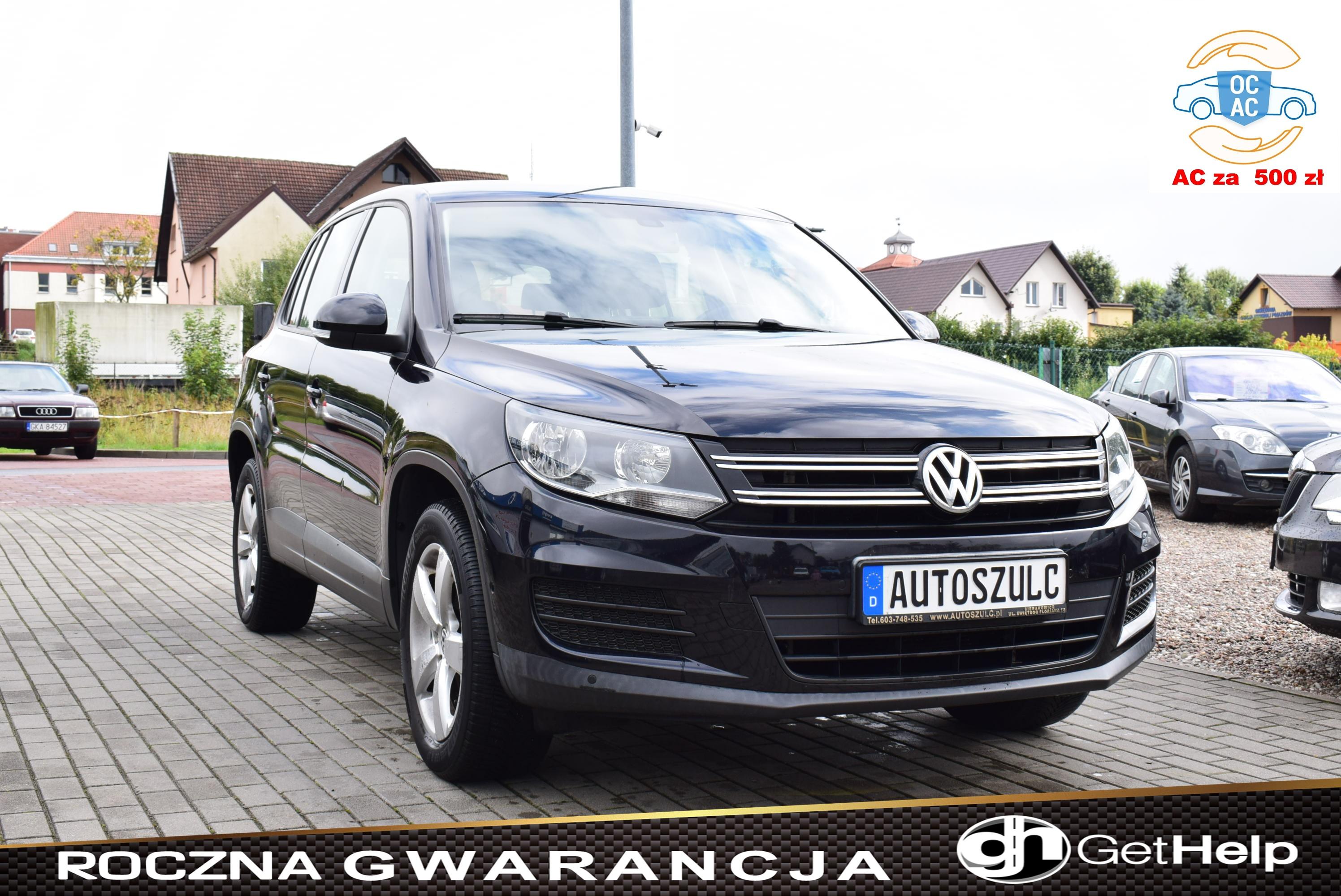 VW Tiguan 1.4 Benzyna, Nowy Model, Sprowadzony, Serwisowany do końca, Bardzo ładny, Rok Gwarancji