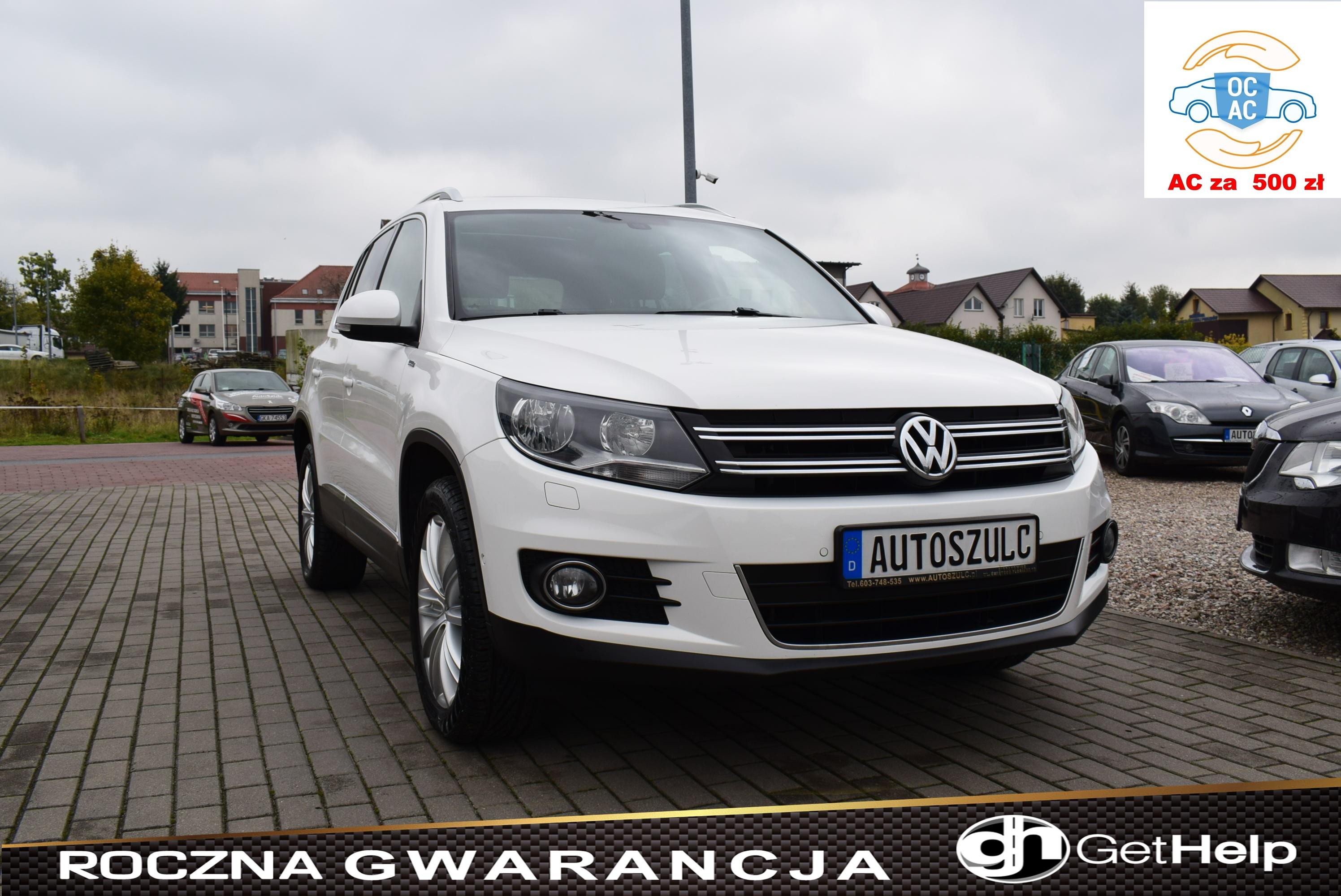 VW Tiguan 2.0 TDI LIFE, 4-Motion, Nowy Model, Biała Perła, Klimatronik, Nawigacja, Rok Gwarancji
